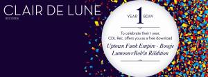 Claire de Lune Records - 1 Year Birthday