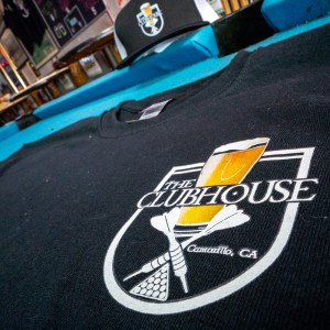 The Clubhouse Black T-Shirt