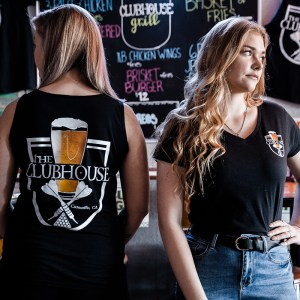 The Clubhouse Black Tank Top