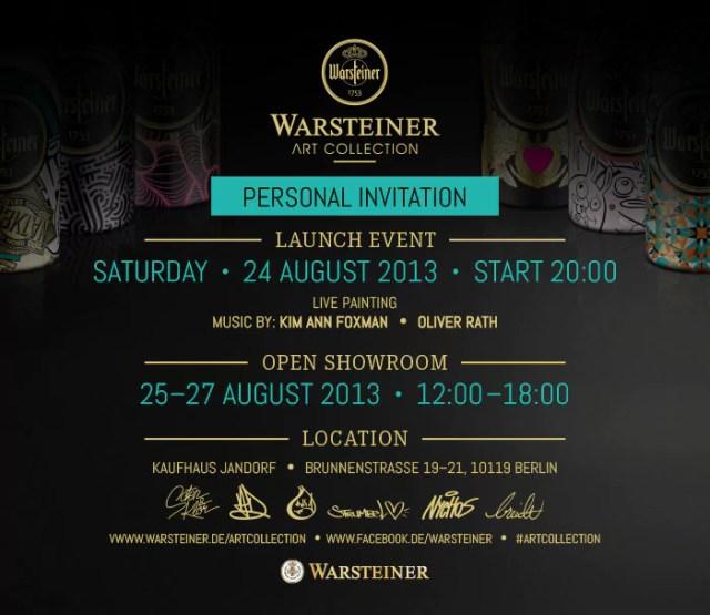 warsteiner art collection
