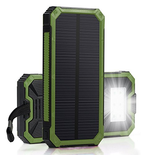 Best Travel Gift Ideas; portable solar charger