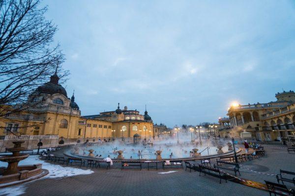 Strange Case of the Hungarian Stomach Virus; Bathhouse in Hungary Budapest