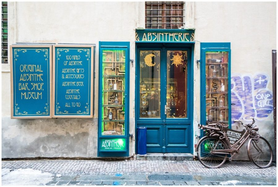 Photos That Will Make You Want to Visit Prague; absintherie exterior