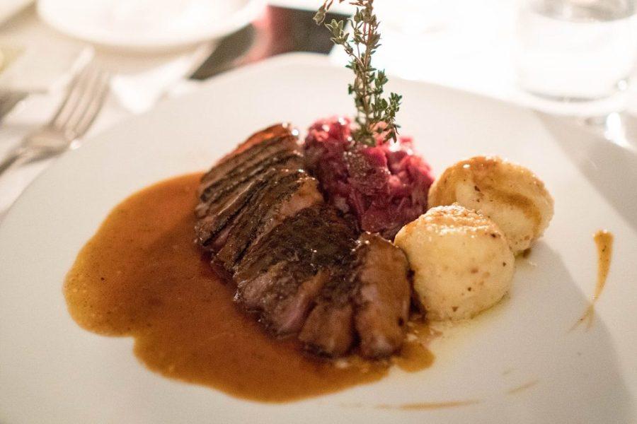 Dining at ef16 Restaurant Weinbar
