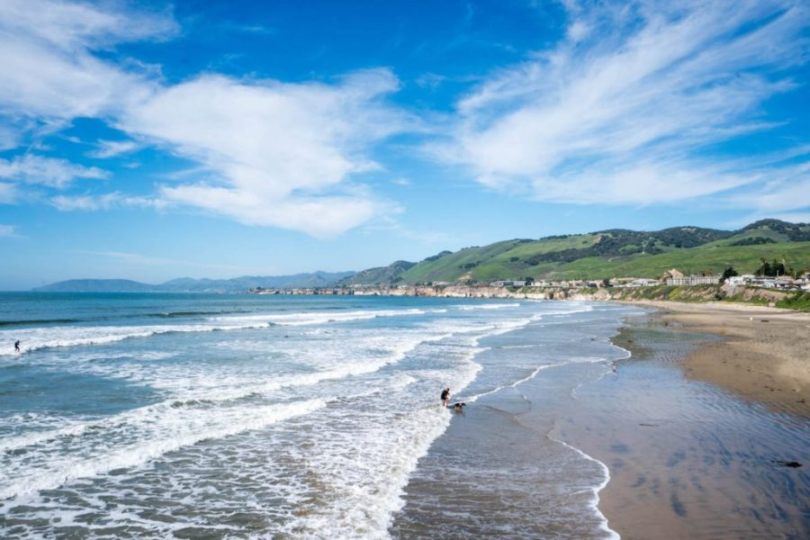 How to see Pismo Beach; beach view water ocean