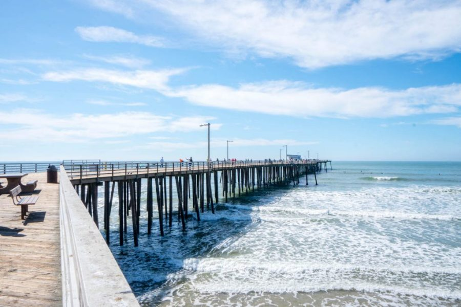 How to see Pismo Beach; beach view water ocean pier