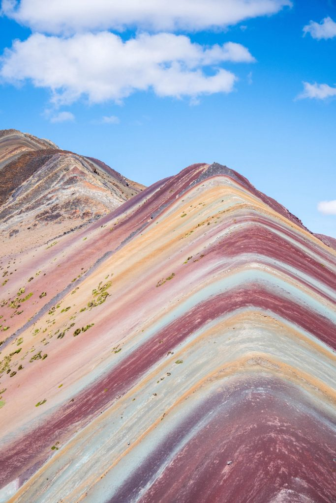 photos of Peru; Rainbow Mountain
