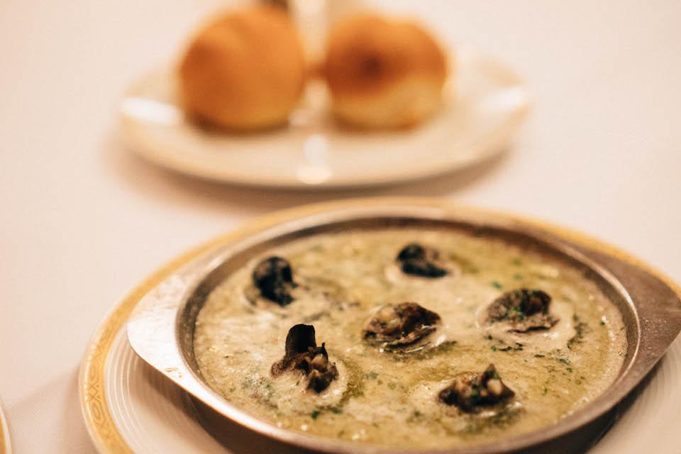 Le Soleil Restaurant; escargot
