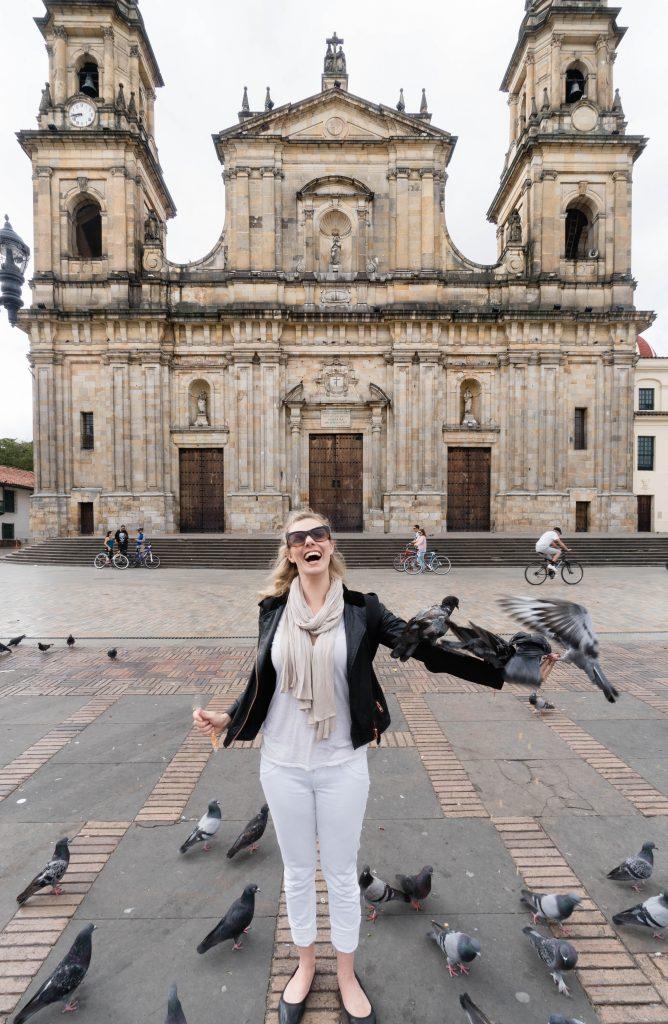 Staying at Sofitel Bogota; Bolívar Square