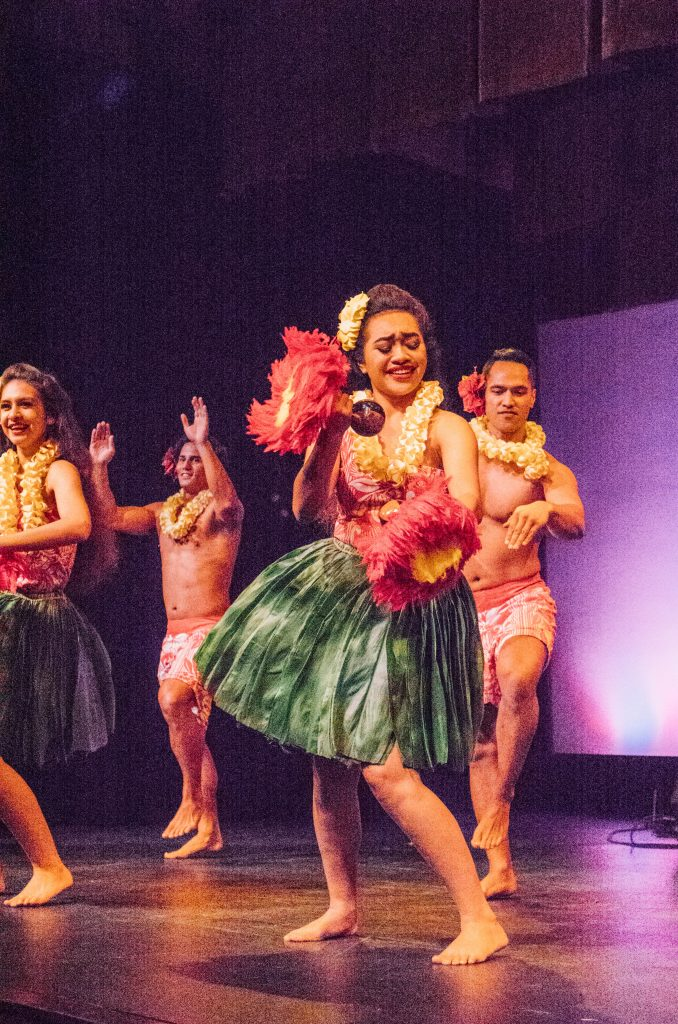 best things to do in Oahu; hula girl dancing at Royal Hawaiian Hotel Luau