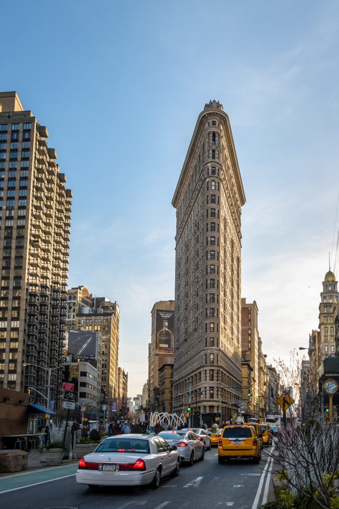 48 hours in New York; Flatiron Building midday
