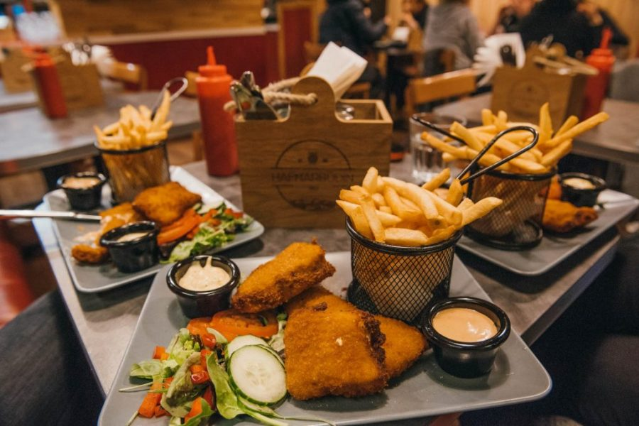 Iceland travel tips; fish and chips restaurant