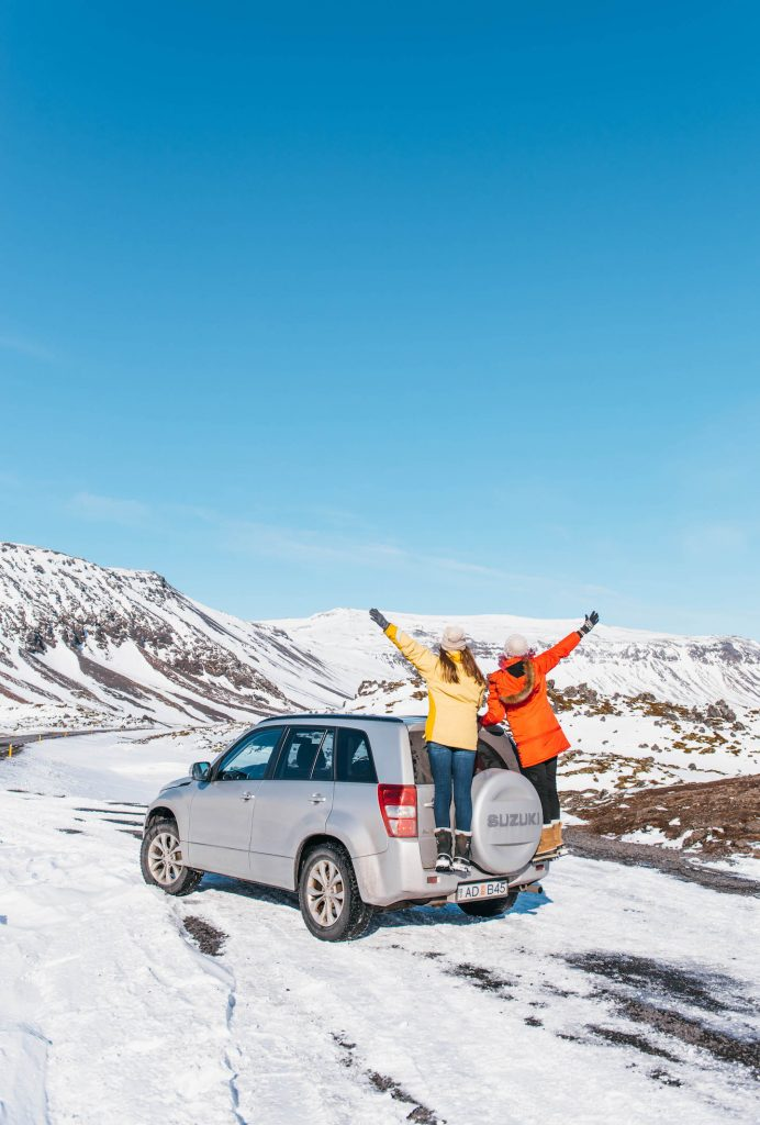 travel the Ring Road in Iceland; girls road trip