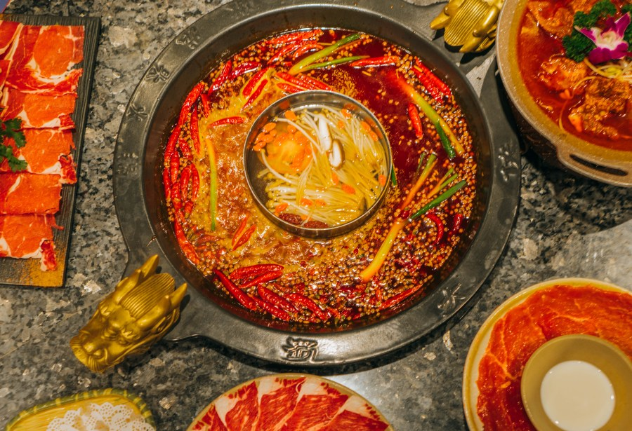 visit Chengdu China; traditional Chinese hot pot
