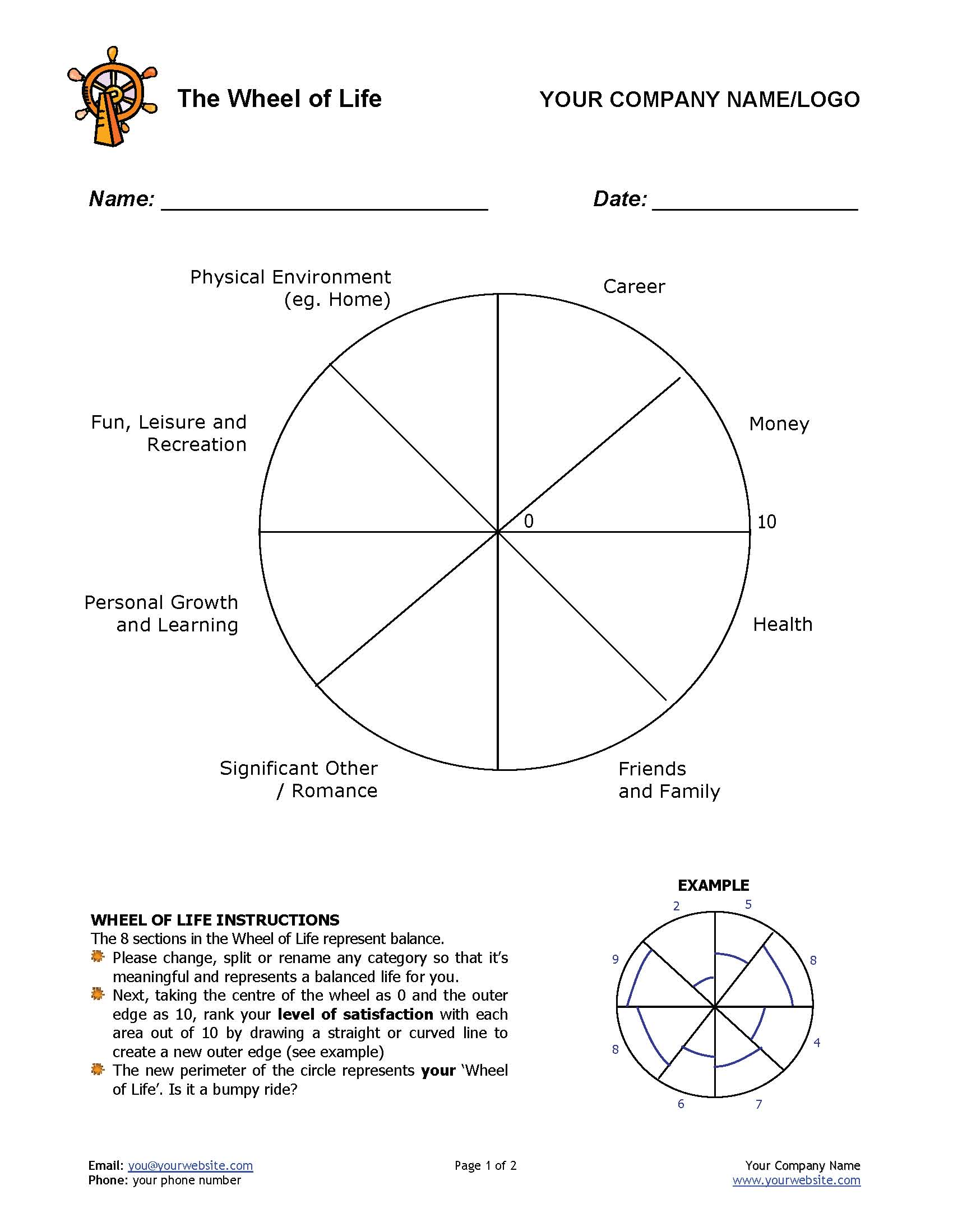 12 Awesome New Ways To Use The Wheel Of Life Tool In Your