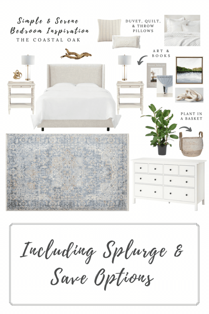 Simple and Serene Bedroom Inspiration