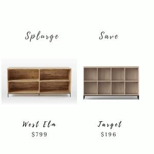 Splurge & Save Furniture