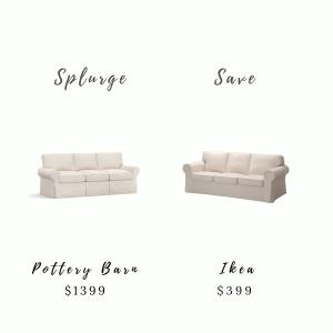 Splurge & Save