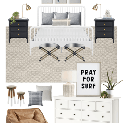 Boys' Coastal Bedroom Decor