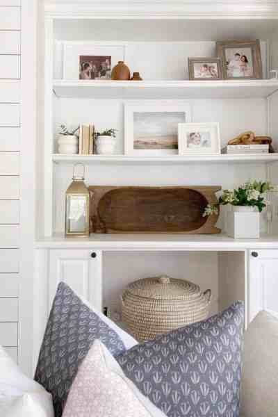 The Coastal Oak - Living Room Decor