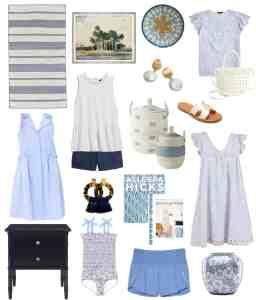 Blue home decor and fashion #coastalhome #coastaldecor #coastalliving #bluehomedecor #bluedecor #bluerug #bluedress #boutiquedress