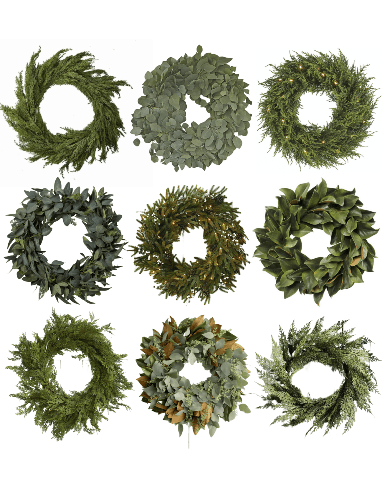 Wreaths that Transition from Fall to Winter
