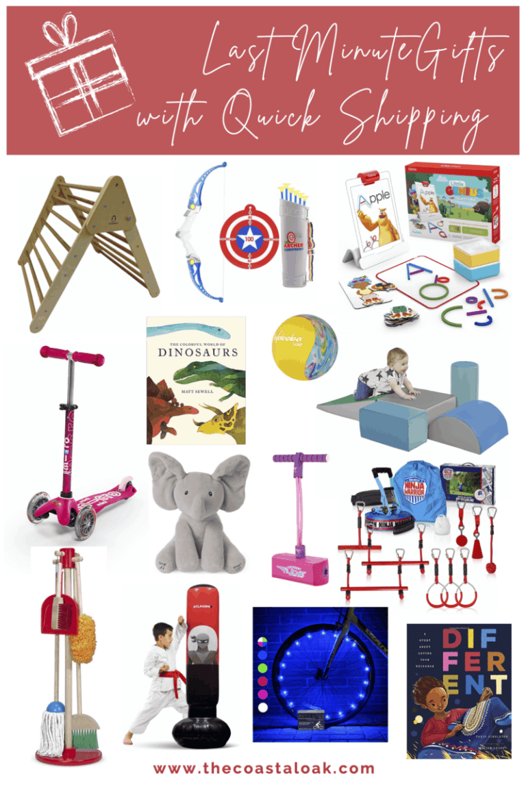 Last Minute Gifts for Kids – with Quick Shipping