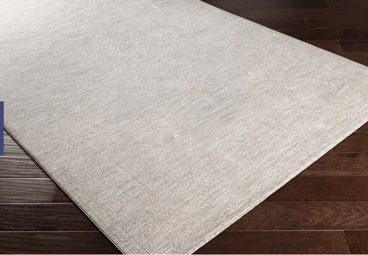 Neutral rug from Boutique Rugs.
