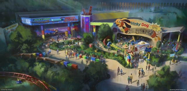 AT D23 EXPO 2017, DISNEY PARKS CHAIRMAN BOB CHAPEK ANNOUNCES SUMMER 2018 OPENING OF TOY STORY LAND -- During D23 Expo 2017, Walt Disney Parks & Resorts Chairman Bob Chapek announces the summer 2018 opening of Toy Story Land at DisneyÕs Hollywood Studios at Walt Disney World Resort.