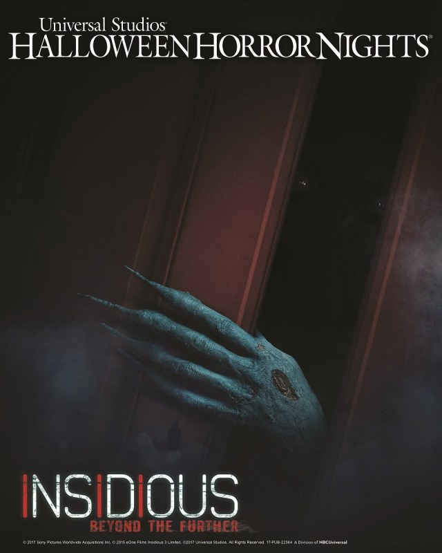 """Universal Studios Hollywood Unleashes """"Insidious: Beyond the Further,"""" an All-New Terrifying """"Halloween Horror Nights"""" Maze and Living Trailer for Universal Pictures and Sony Pictures' Stage 6 Films Insidious: Chapter 4"""