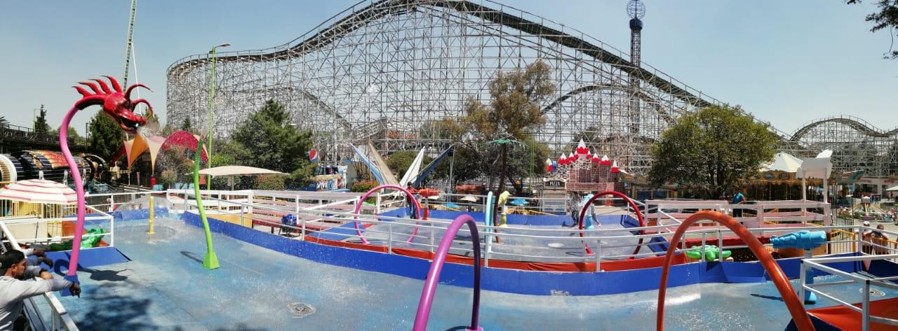 Aquaventura Nueva Atraccion Para Refrescarse En La Feria Tcz