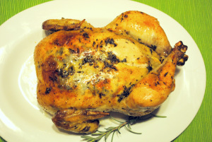 Garlic and Herb Roasted Chicken