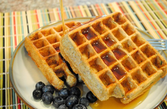 What's in Season: Zucchini Waffles