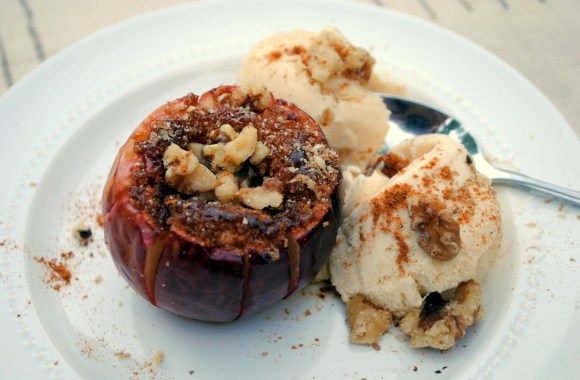 Grilled (or Baked) Blooming Apples