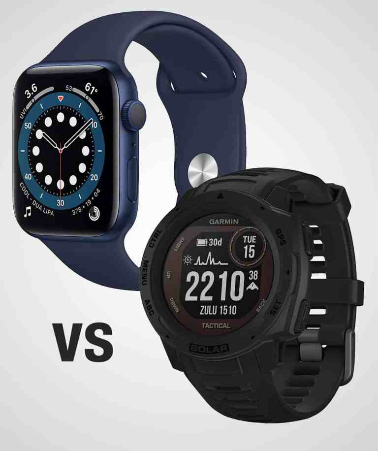 Apple Watch vs Garmin Instinct Solar