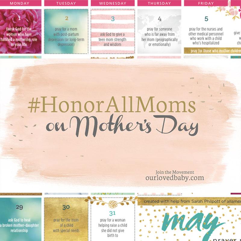 Social Media Marketing | #HonorAllMoms Campaign