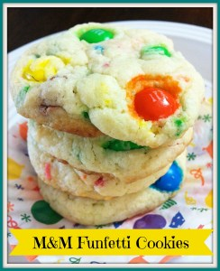 MM Funfetti Cookies