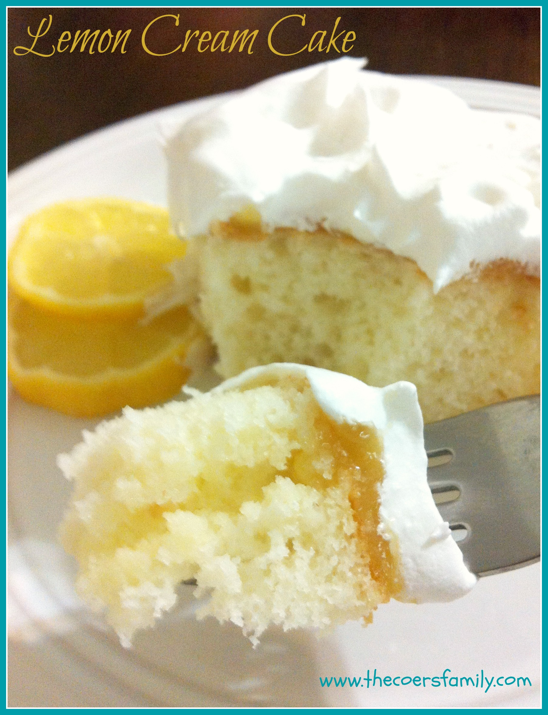 Lemon Poke Cake Made With Jello