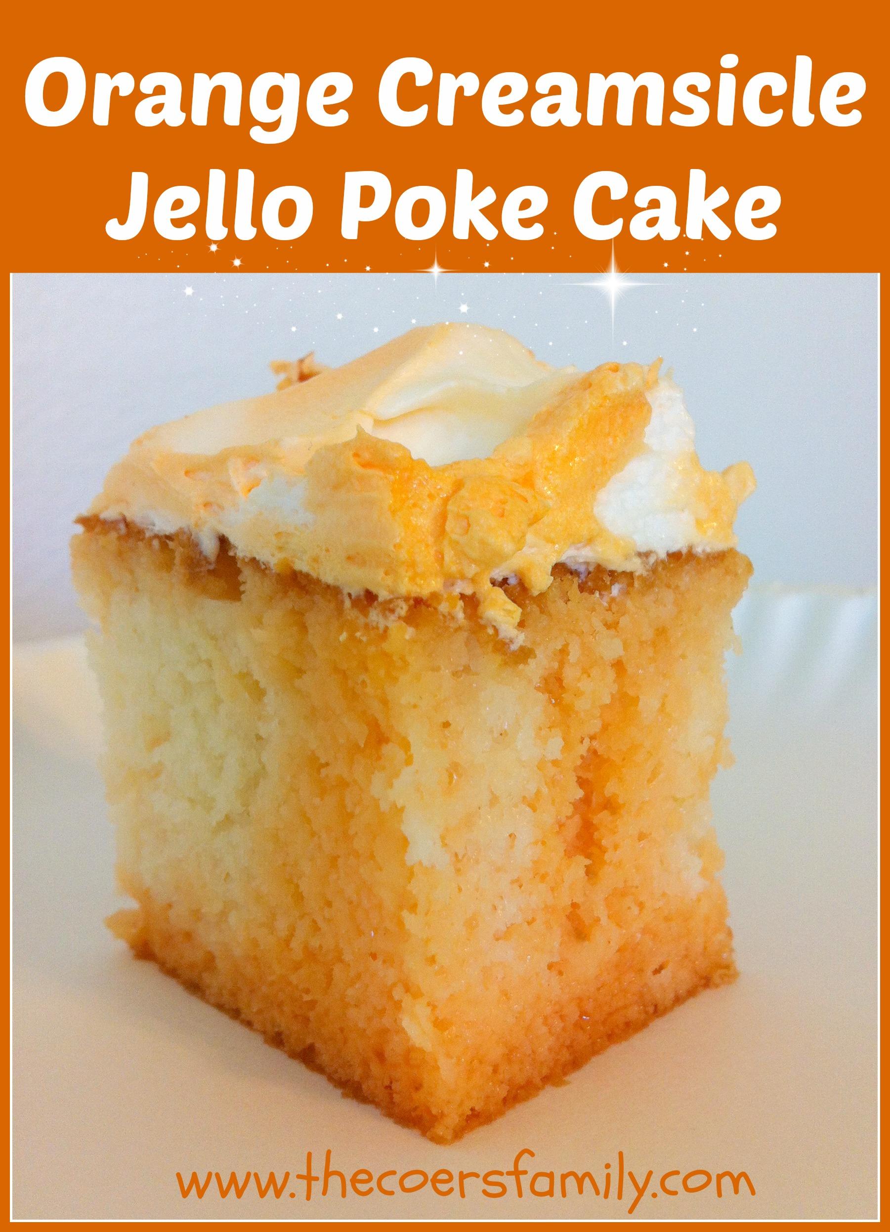 Duncan Hines Orange Jello Cake