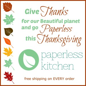 Paperless Kitchen Thanksgiving ad