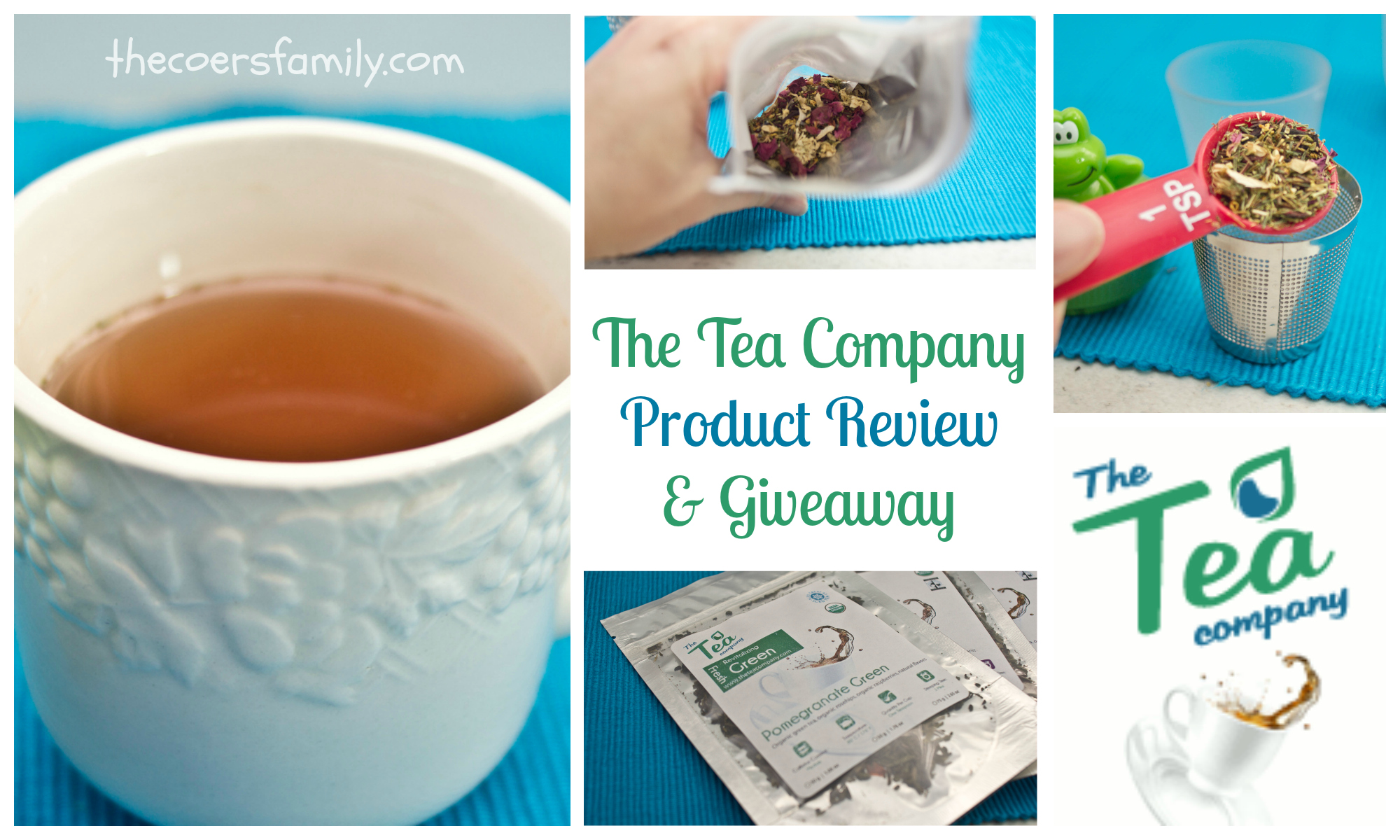 Product Review and Giveaway: The Tea Company - The Coers Family
