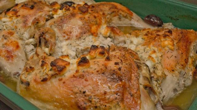 Greek Baked Chicken
