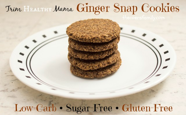 Trim Healthy Mama Ginger Snap Cookies