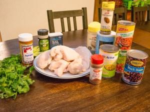 Southwest Chicken in the Crock Pot