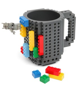 Build and Drink coffee with this cute lego mug