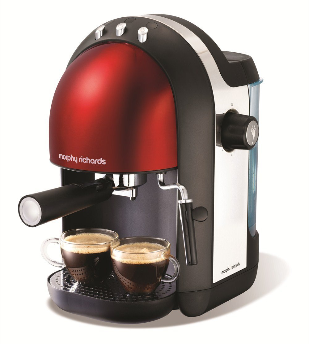 Morphy Richards Accents 47586 Espresso Maker 5 Star Review 90