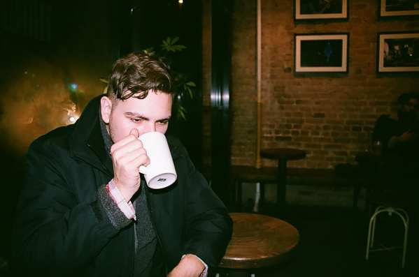 Kenny Smith at Third Rail Coffee