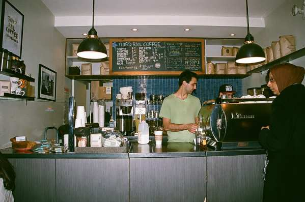 Third Rail Coffee interior