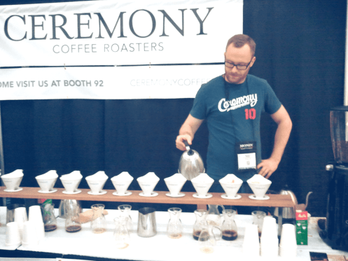 CoffeeFest NYC 2013 Ceremony Coffee Best Espresso