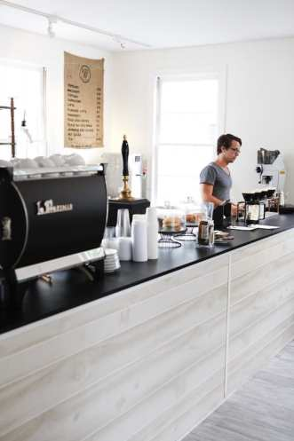 Black Tap Coffee espresso machine